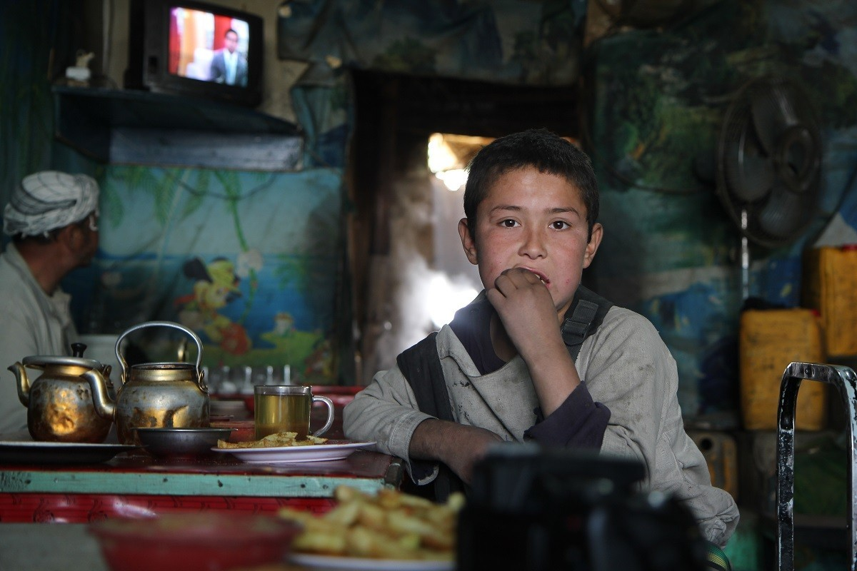 Street Kid in Kabul