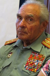 Russian war veteran, Medved, initially seemed unapproachable to me in his military uniform
